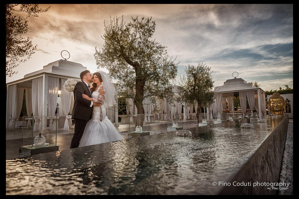 Matrimonio Tema Giardino Zen : Matrimonio serale a villa carafa roberto giovanna