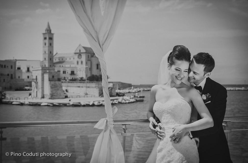 Una bellissima fotografia di Matrimonio a Trani