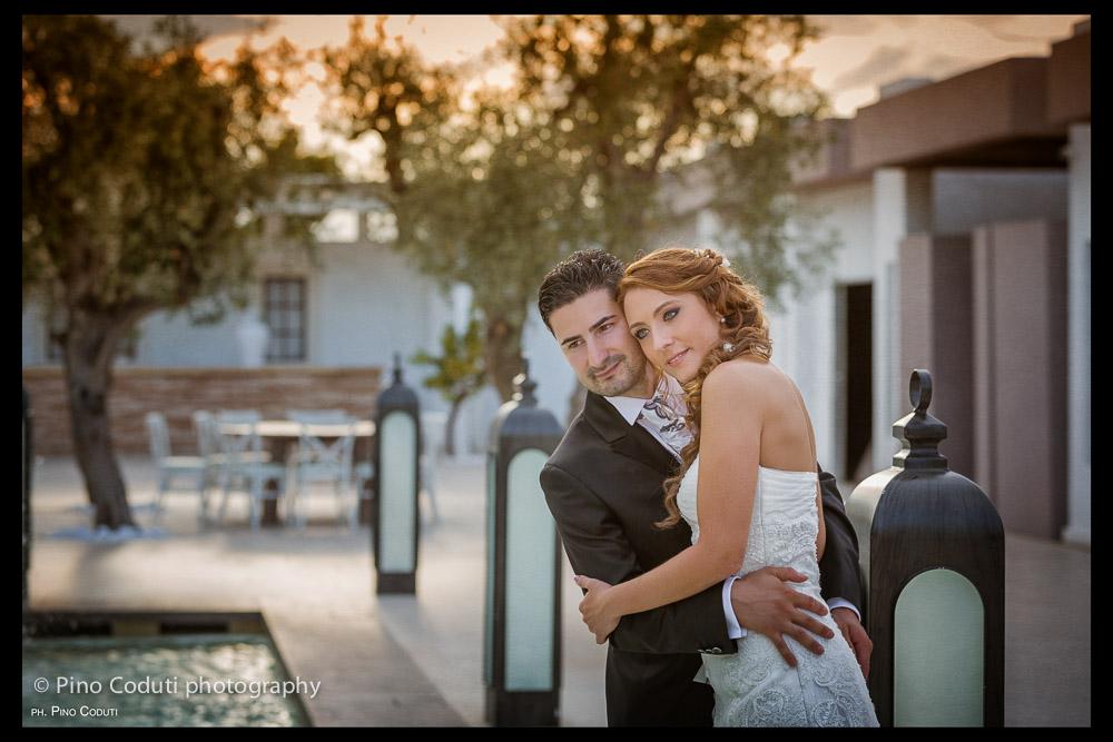 Fotografie di matrimonio a Villa Carafa