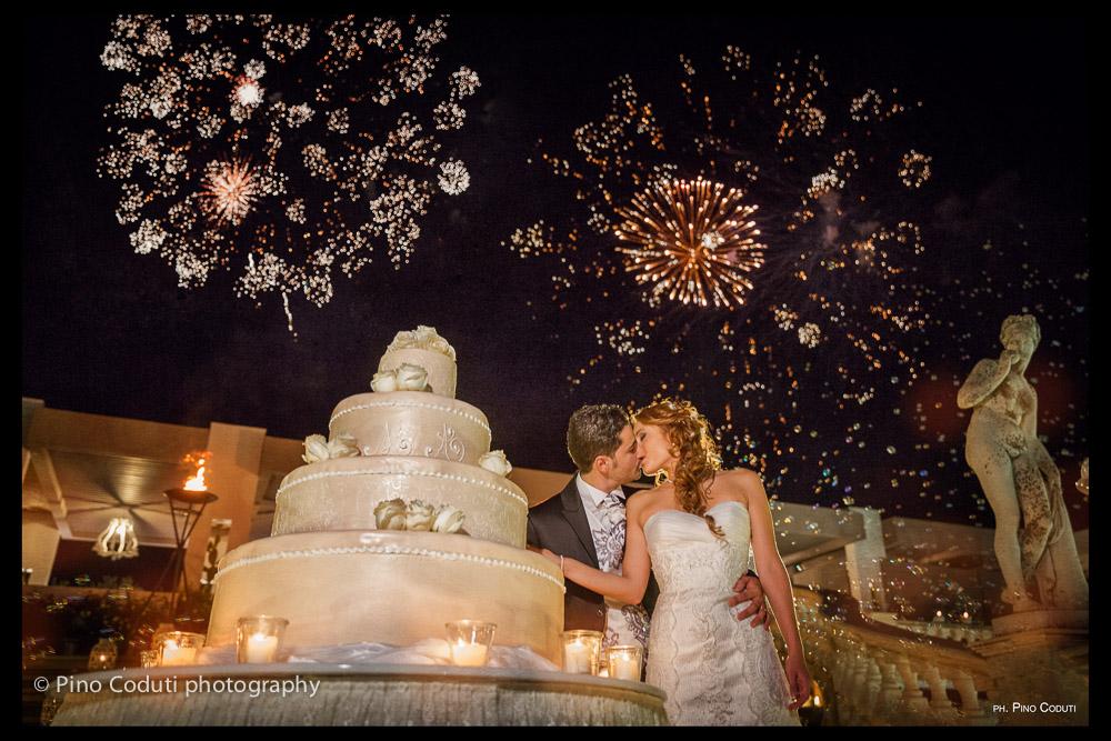Fuochi d'artificio Fotografie a Villa Carafa