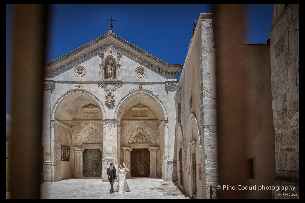 Matrimonio con panorama a Monte Sant'Angelo