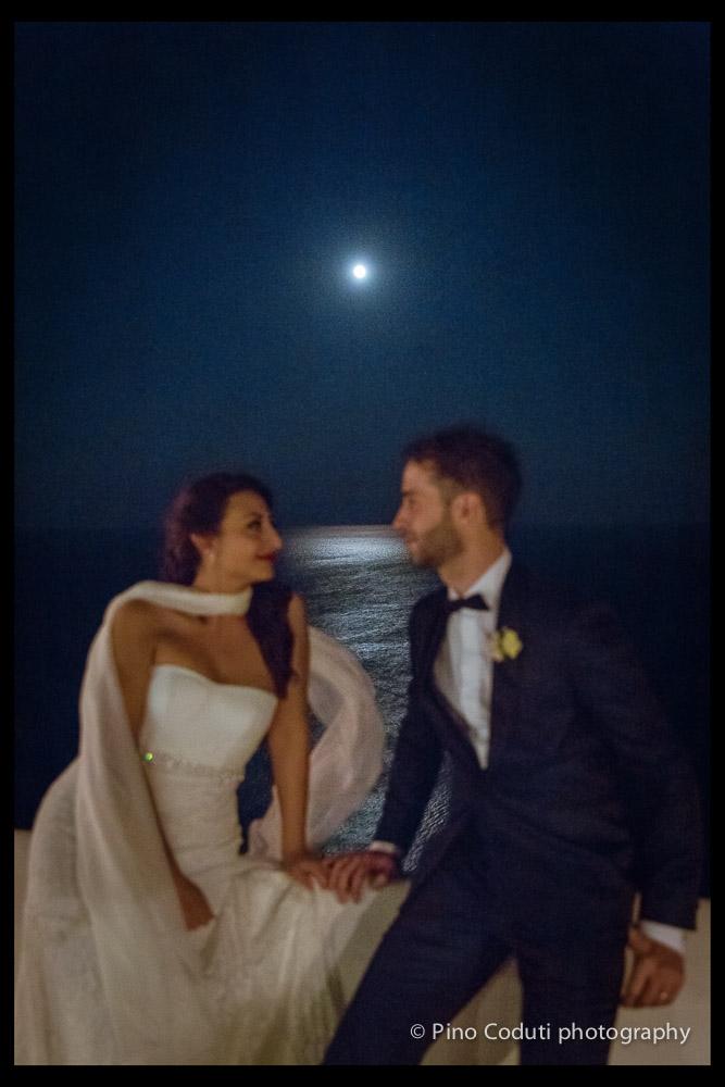Luna sul mare alla locanda del Carrubo