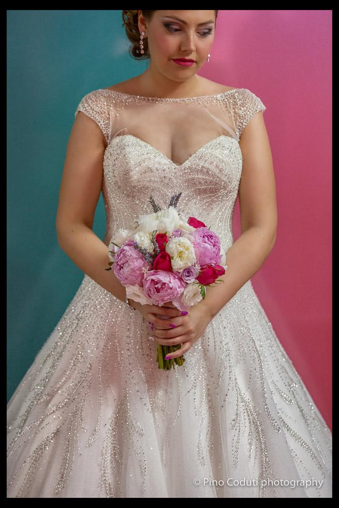 Il fuxia nel Matrimonio a Foggia