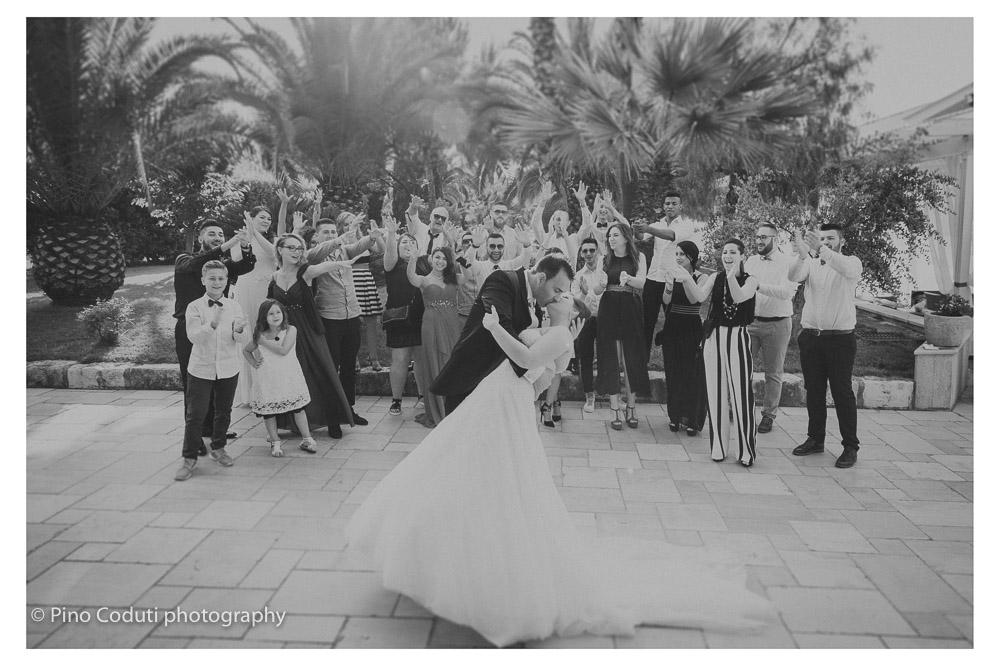 Gli sposi a Torre Giulia