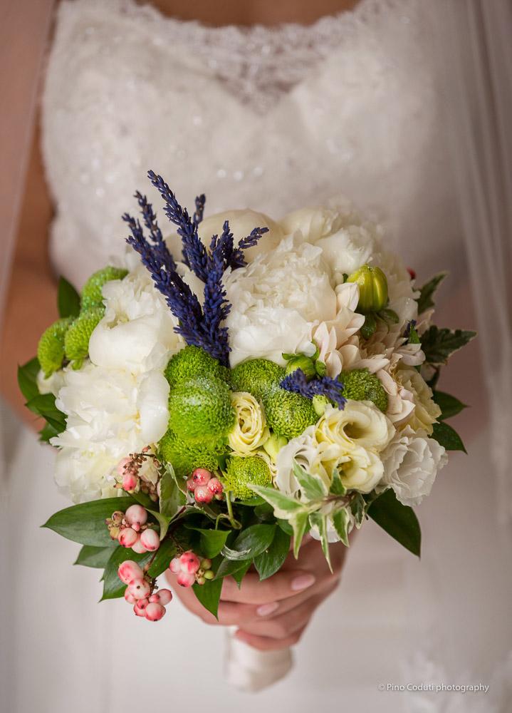 Il Bouquet della sposa del fiorista Stefano Benincaso.