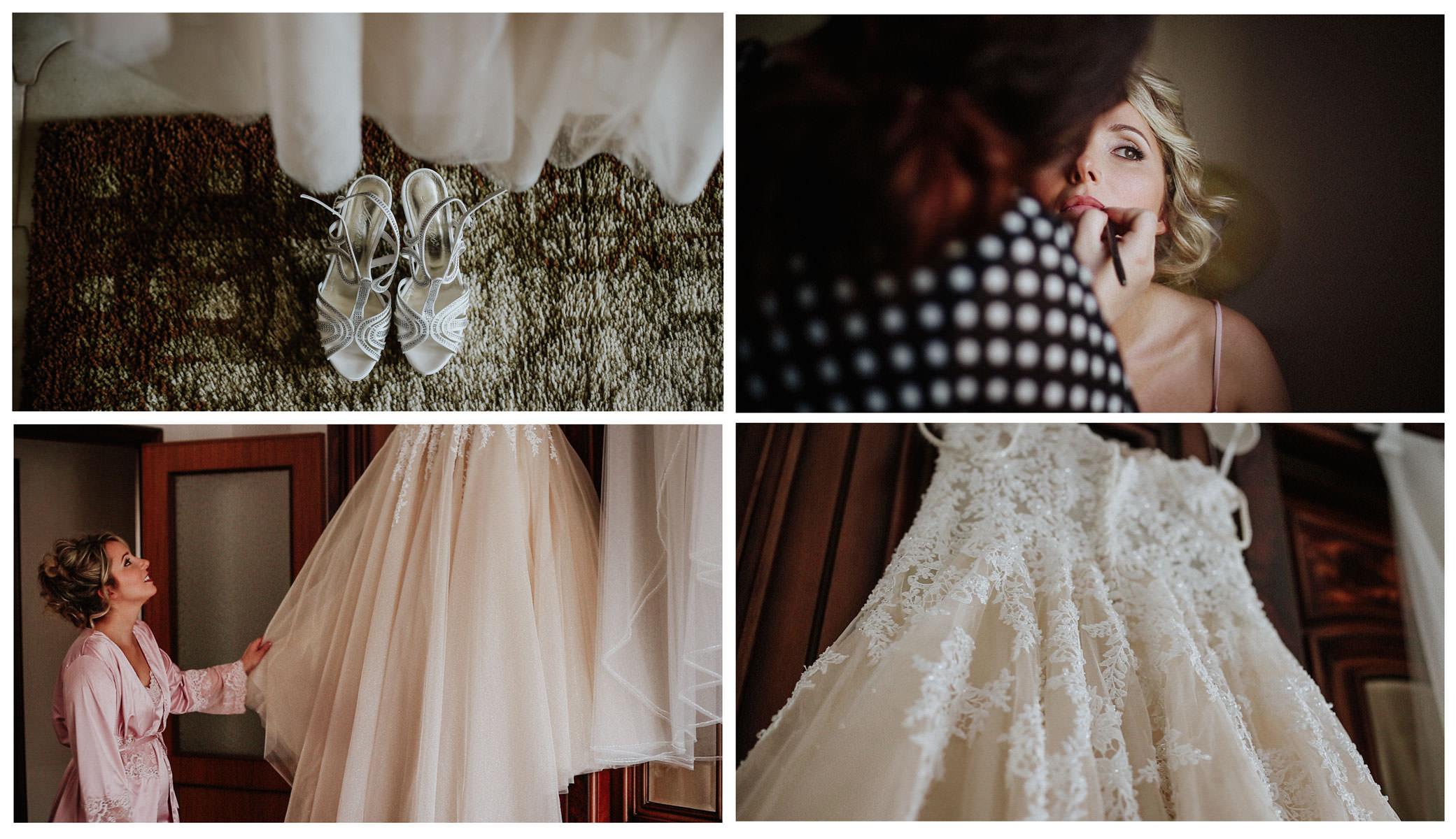 La sposa e l'abito Atelier De Finis