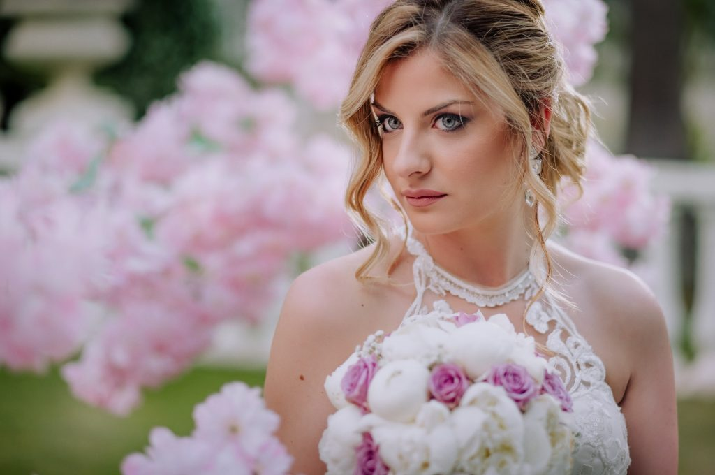 sposa splendida fotografata allo Smeraldo di Canosa
