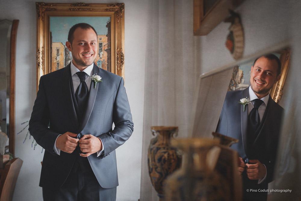 Pino Coduti Pino Coduti fotografa Abito sposo Atelier Siciliano