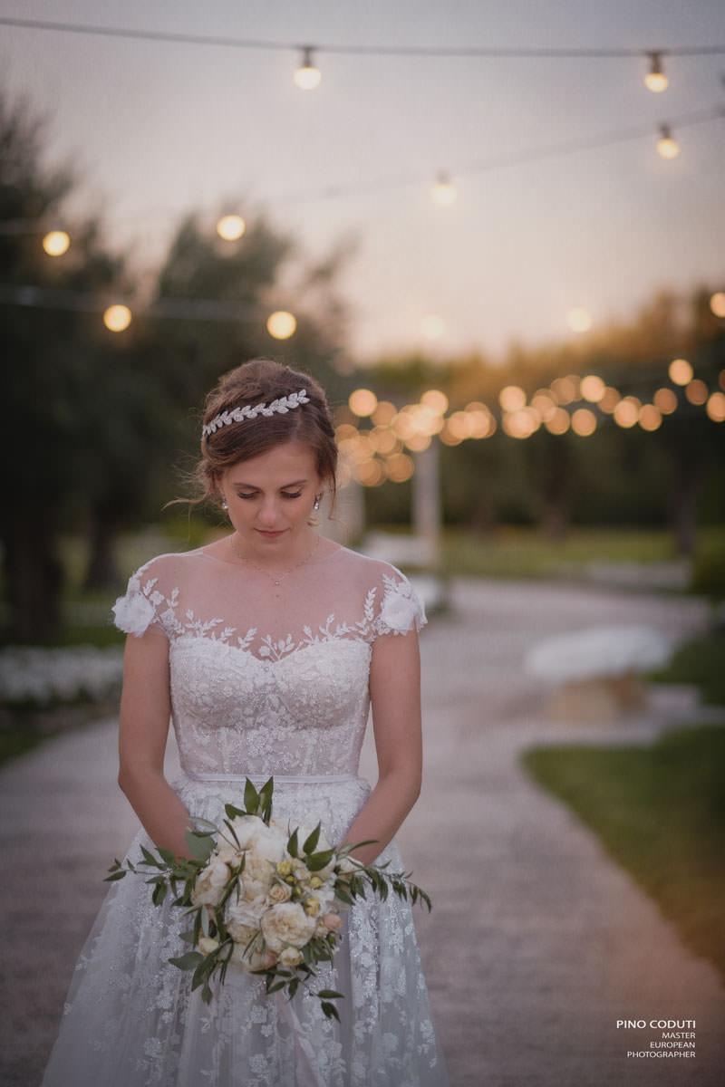 Fotografia di sposa a Lenimento San Giuseppe di Pino Coduti
